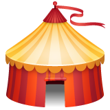 Circus Tent whatsapp emoji