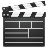 Clapper Board whatsapp emoji