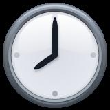 Clock Face Eight Oclock whatsapp emoji