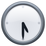 Clock Face Five-thirty whatsapp emoji