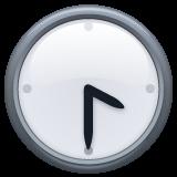 Clock Face Four-thirty whatsapp emoji