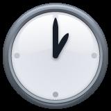 Clock Face One Oclock whatsapp emoji