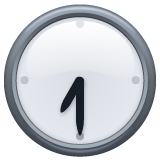 Clock Face Seven-thirty whatsapp emoji
