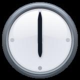 Clock Face Six Oclock whatsapp emoji