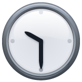 Clock Face Ten-thirty whatsapp emoji