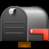 Closed Mailbox With Lowered Flag whatsapp emoji