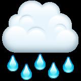 Cloud With Rain whatsapp emoji