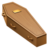 Coffin whatsapp emoji