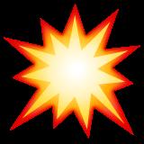 Collision Symbol whatsapp emoji