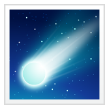 Comet whatsapp emoji