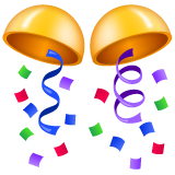 Confetti Ball whatsapp emoji
