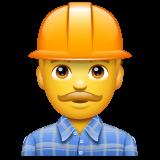 Construction Worker whatsapp emoji