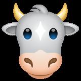 Cow Face whatsapp emoji