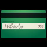 Credit Card whatsapp emoji