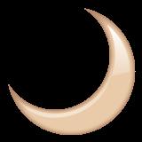Crescent Moon whatsapp emoji