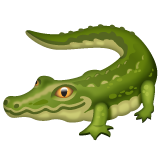 Crocodile whatsapp emoji