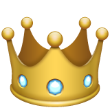 Crown whatsapp emoji