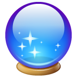 Crystal Ball whatsapp emoji