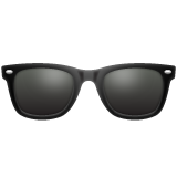 Dark Sunglasses whatsapp emoji