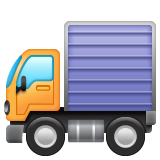 Delivery Truck whatsapp emoji