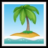 Desert Island whatsapp emoji