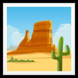 Desert whatsapp emoji