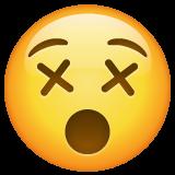 Dizzy Face whatsapp emoji