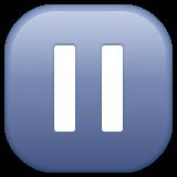 Double Vertical Bar whatsapp emoji