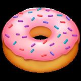 Doughnut whatsapp emoji