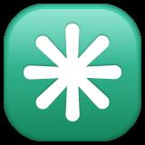 Eight Spoked Asterisk whatsapp emoji