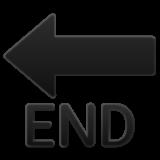 End With Leftwards Arrow Above whatsapp emoji