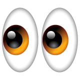 Eyes whatsapp emoji