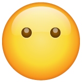 Face Without Mouth whatsapp emoji