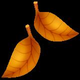 Fallen Leaf whatsapp emoji