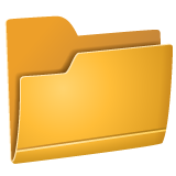 File Folder whatsapp emoji