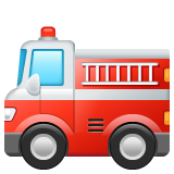 Fire Engine whatsapp emoji
