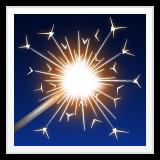 Firework Sparkler whatsapp emoji