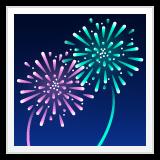 Fireworks whatsapp emoji