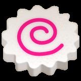 Fish Cake With Swirl Design whatsapp emoji