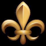 Fleur-de-lis whatsapp emoji
