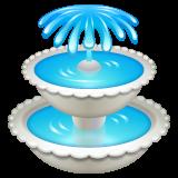 Fountain whatsapp emoji