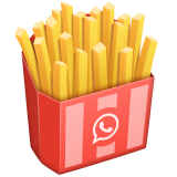 French Fries whatsapp emoji