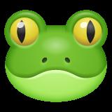 Frog Face whatsapp emoji