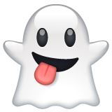 Ghost whatsapp emoji