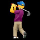Golfer whatsapp emoji