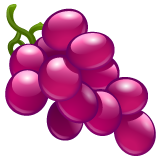 Grapes whatsapp emoji