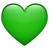 Green Heart whatsapp emoji