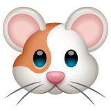 Hamster Face whatsapp emoji