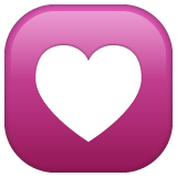 Heart Decoration whatsapp emoji