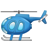 Helicopter whatsapp emoji